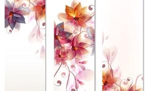 Картинка цветы, картина, фон