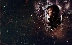 Картинка абстракция, Шерлок Холмс, Sherlock, Sherlock BBC, Sherlock Holmes, Sherlock (сериал)