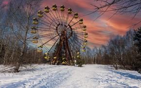 Картинка город, Chernobyl, Exclusion Zone