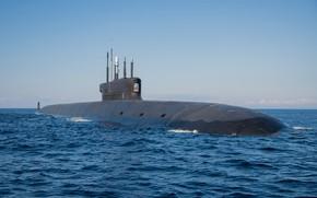 Картинка атомный, подводный крейсер, Князь Владимир