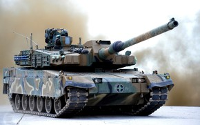 Картинка танк, Южная Корея, Чёрная пантера, 2K Black Panther