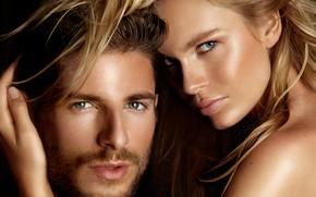 Картинка взгляд, девушка, пара, мужчина, влюбленные, Albert Sanchez