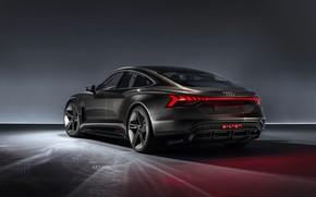 Картинка Concept, Audi, вид сзади, 2018, e-tron GT Concept, E-Tron GT
