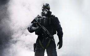 Картинка оружие, игра, форма, game, Rainbow Six, Tom Clancy's, Tom Clancy's Rainbow Six