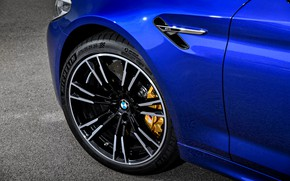 Картинка колесо, BMW, седан, BMW M5, 2017, M5, F90
