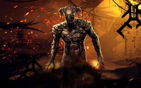 Картинка символы, демон, demon, руны