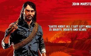 Картинка art, John Marston, Red Dead Redemption 2, Red Dead
