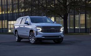 Картинка Chevrolet, SUV, Suburban, 2020, полноразмерный