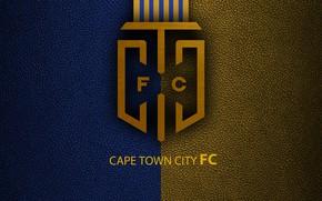 Картинка wallpaper, sport, logo, football, Cape Town City