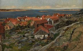 Картинка 1880, Герхард Мюнте, Gerhard Munthe, Герхард Петер Франц Мюнте, Национальная галерея ( Норвегия ), National …