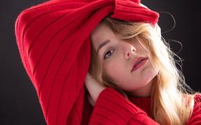 Картинка девушка, портрет, Claudie Michaud-Couture