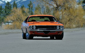 Картинка Dodge Challenger, Muscle car, Vehicle, Classic vehicle