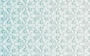 Картинка белый, цветы, абстракция, фон, узор, текстура