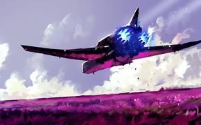 Картинка Рисунок, Судно, Art, Космический Корабль, Concept Art, Science Fiction, Black Swan, Dominik Mayer, Environments, by …