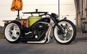 Картинка Harley-Davidson, Custom, Motorbike, Thunderbike