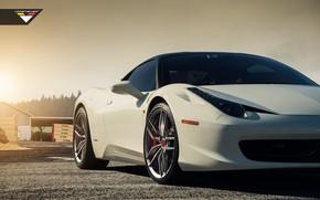 Картинка sportcar, italia, front, ferrari 458
