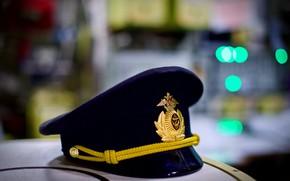 Картинка фуражка, военно-морская, офицерская