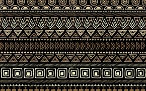Картинка фон, узор, текстура, коричневый, орнамент