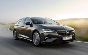 Картинка движение, Insignia, Opel, универсал, 2020, Insignia Sports Tourer
