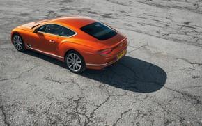 Картинка Bentley, Continental GT, вид сзади, 2018