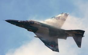 Картинка Япония, Japan, F-4 Phantom II, Воздушные силы самообороны Японии, Эффект Прандтля — Глоерта, Mitsubishi Heavy …