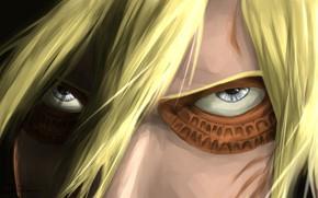 Картинка взгляд, титан, Атака Титанов, Shingeki No Kyojin, Энни