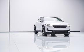 Картинка фото, Белый, Автомобиль, Worldwide, 2019, Polestar 1