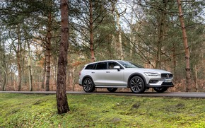 Картинка Volvo, универсал, 2020, V90 B4 Cross Country