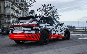 Картинка Audi, стоянка, вид сбоку, 2018, E-Tron Prototype