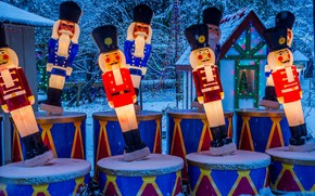 Картинка Канада, Рождество, Ванкувер, Стэнли-парк