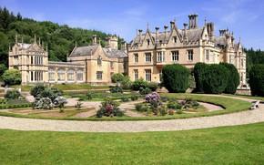 Картинка сад, Великобритания, дворец, Main, Mamhead house, Best Country Houses in Britain