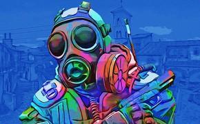 Картинка toxic, blue, 'CS:GO'