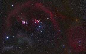 Картинка Orion, Constellation, Orion Nebula, constellations