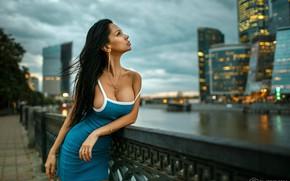 Картинка грудь, девушка, город, модель, Дмитрий Филатов, Dmitry Filatov, Filatoff