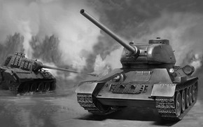 Картинка ремейк, тридцатьчетверка, память о войне