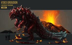 Картинка арт, покемон, pokemon, Огненный, Лава