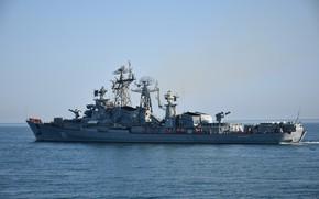 Картинка Черное море, Сметливый, проект 61, сторожевик