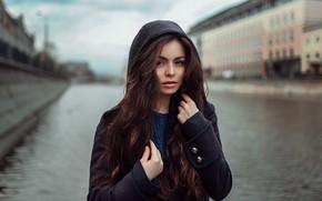 Картинка осень, девушка, модель