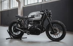 Картинка Black, Cafe Racer, BMW R100