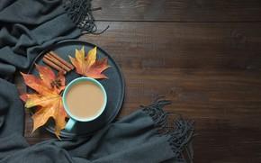Картинка осень, кофе, чашка