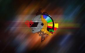 Картинка Музыка, Стиль, Фон, Daft Punk, Thomas Bangalter, Дафт Панк, Маски, Guy Manuel de Homem Christo, …