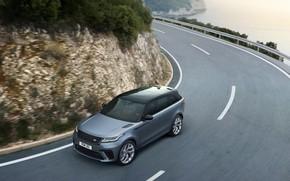 Картинка поворот, Машина, Land Rover, Range Rover, кроссовер, SVAutobiography, Velar, Dynamic Edition