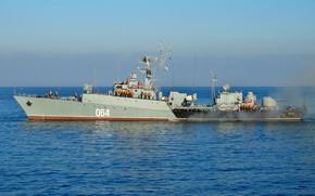 Картинка корабль, противолодочный, Муромец, проект 1124м, шифр Альбатрос