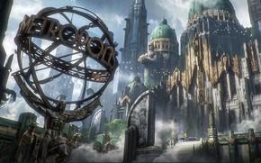 Картинка город, сооружения, пастух, инсталляция, The Metropolis
