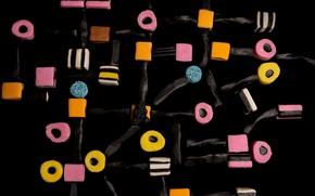 Картинка фон, еда, конфеты