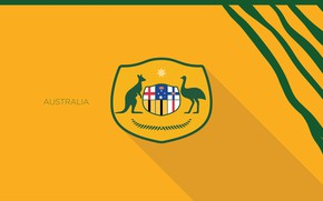 Картинка wallpaper, sport, logo, football, Australia