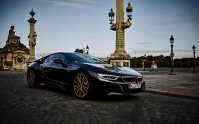 Картинка BMW, площадь, i8, 2019, i8 Coupe, Ultimate Sophisto Edition