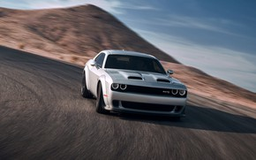 Картинка Dodge, Challenger, Hellcat, SRT, Widebody, 2019, Redeye