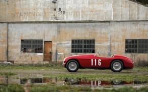 Картинка Ferrari, Classic, 1950, Classic car, Barchetta, Sports car, Ferrari 166 MM Barchetta, Ferrari 166