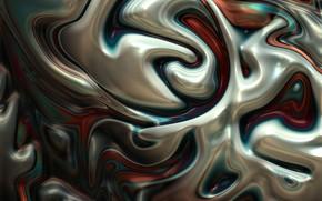 Картинка линии, металл, абстракция, металлик, плазма, плавление, диффузия, перемешивание